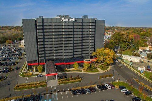 Marriott Glenpointe hotel exterior